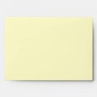 Macro Yellow Rose Envelope