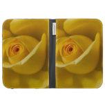 Macro Yellow Rose Kindle Cover