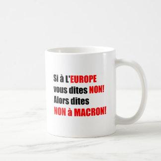 MACRON = Mondialisation Coffee Mug