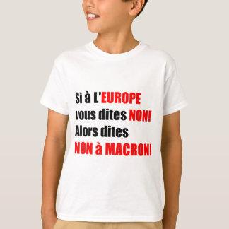 MACRON = Mondialisation T-shirt blanc Enfant