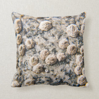 MacroPillow: Powder Pink & Barnacle Throw Pillow