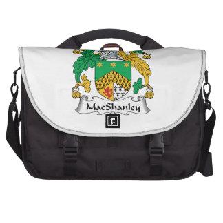MacShanley Family Crest Laptop Messenger Bag