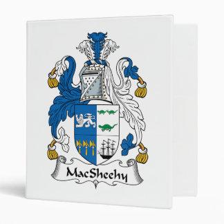 MacSheehy Family Crest 3 Ring Binder