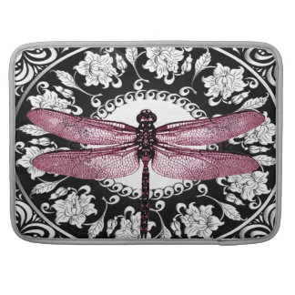 MACSLEEVE - FLAP - DRAGONFLY FRAMED DESIGN BY ARA SLEEVES FOR MacBooks