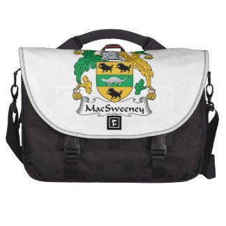 MacSweeney Family Crest Laptop Computer Bag