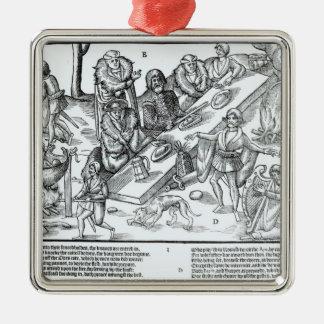 MacSweeney's Feast Metal Ornament