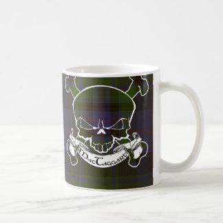 MacTaggart Tartan Skull Coffee Mug