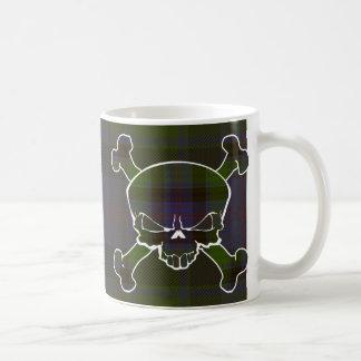 MacTaggart Tartan Skull No Banner Coffee Mug