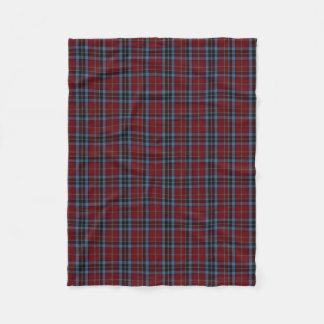 MacTavish Clan Tartan Plaid Fleece Blanket