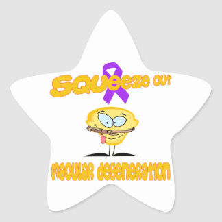 Macular Degeneration Star Sticker