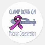 Macular Degeneration Sticker