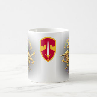 MACV and Vietnam Service Dragon Coffee Mug