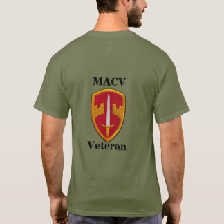 MACV Military Assistance Command, Vietnam Nam Vets T-Shirt