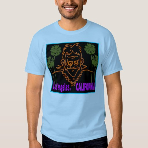 Macvy los angeles california t shirt zazzle for Los angeles california shirt