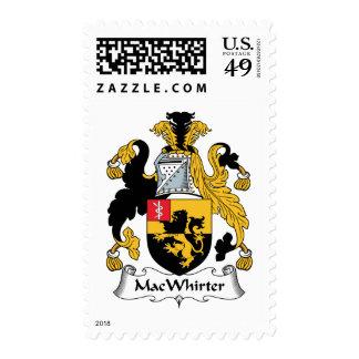 MacWhirter Family Crest Stamps