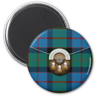 MacWilliam Tartan And Sporran Magnet