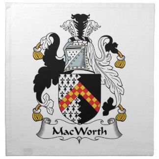 MacWorth Family Crest Napkins