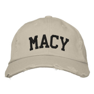Macy Embroidered Hat