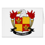 Macy Family Crest Card