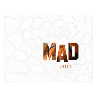 Mad 2011 - Basketball Postcard
