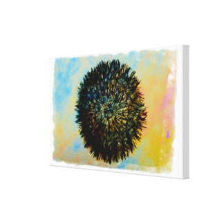 mad 8 ball stretched canvas prints