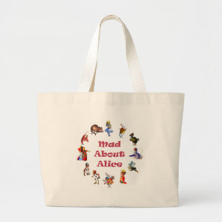 MAD ABOUT ALICE! LARGE TOTE BAG