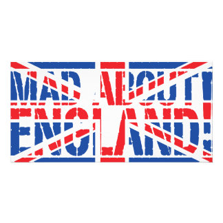 Mad About England Card
