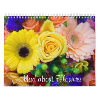 Mad about Flowers Calendar