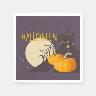 Mad About Halloween Halloween Party Paper Napkins