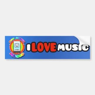 Mad About Music Bumper Sticker Car Bumper Sticker
