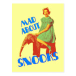 Mad About Snooks postcard