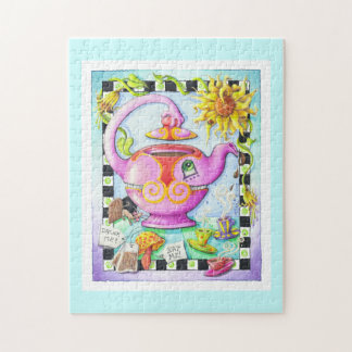 MAD ABOUT TEA PARTY JIGSAW PUZZLE