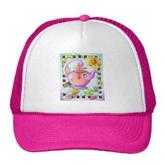 MAD ABOUT TEA PARTY TRUCKER HAT