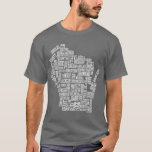 Mad About Wisconsin (Grey) T-Shirt