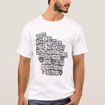 Mad About Wisconsin Roads T-Shirt