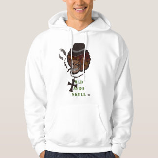 MAD AFRO SKULL HOODIE