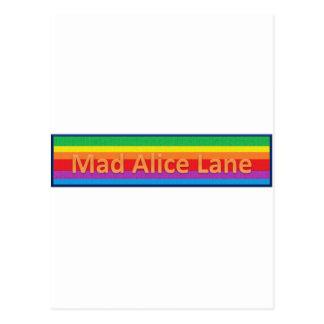 Mad Alice Lane 2 Postcard