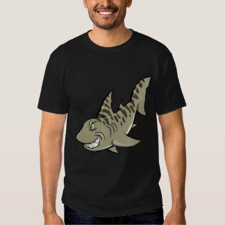 Mad Angry Shark  T-shirt