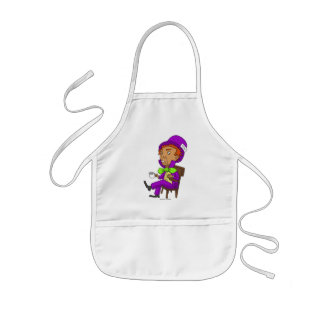 Mad as a hatter kids' apron