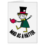 Mad As A Hatter Cards