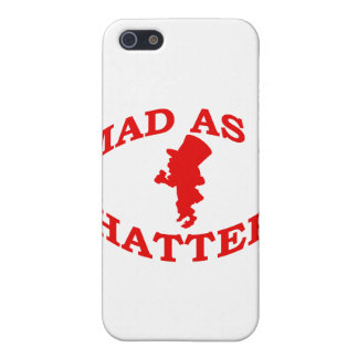 Mad As A Hatter Cover For iPhone SE/5/5s
