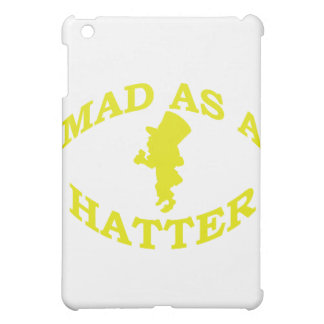 Mad As A Hatter iPad Mini Cases