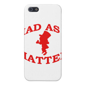 Mad As A Hatter iPhone SE/5/5s Cover