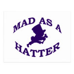 Mad As A Hatter Post Cards
