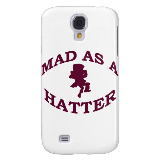 Mad as a Hatter Samsung Galaxy S4 Case