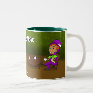 Mad as a hatter Two-Tone coffee mug