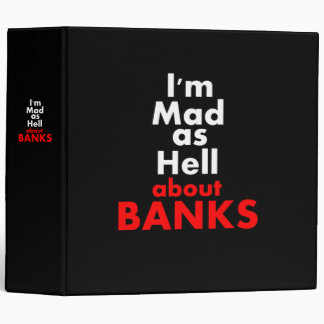 Mad as Hell 3 Ring Binder