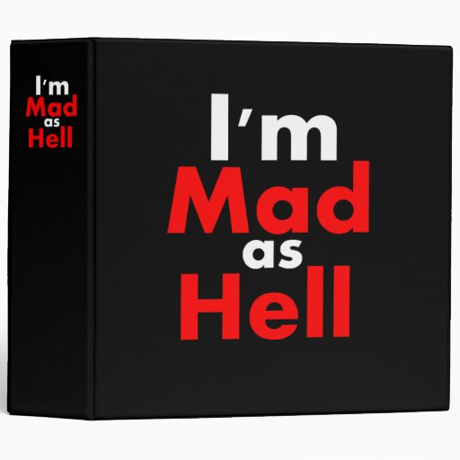 Mad as Hell Binder