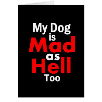Mad as Hell Card