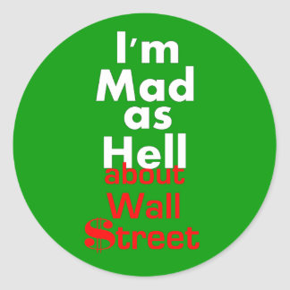 Mad as Hell Stickers